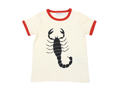 Mini Rodini t-shirt scorpio off-white